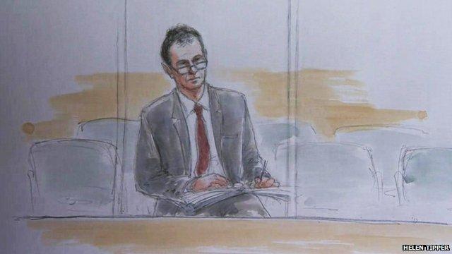 Nigel Evans in court