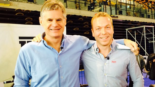 BBC Scotland's John Beattie meets Sir Chris Hoy