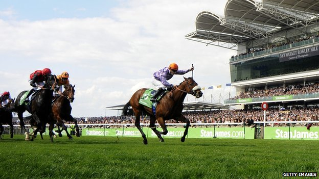 Makfi wins the 2,000 Guineas in 2010