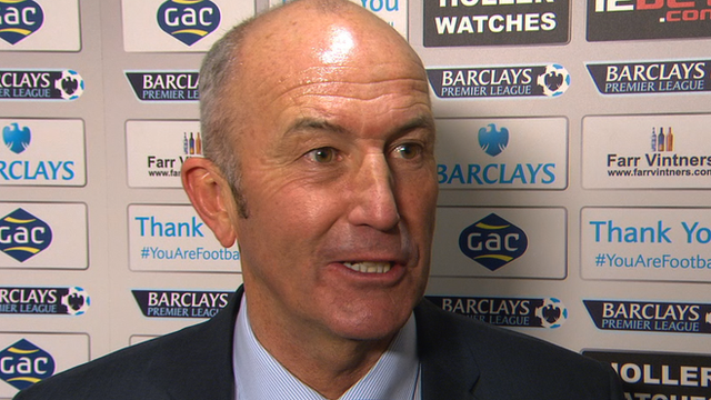 Tony Pulis says he is 'just doing my job' after victory