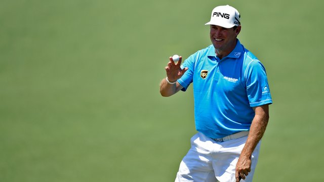 Masters 2014: Leading Brit Westwood 'in contention'