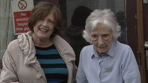 Josie McCann and her mother Letty,