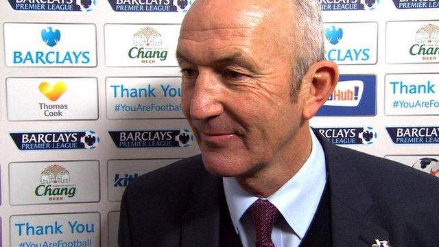 Everton 2-3 Crystal Palace: Tony Pulis believes Palace are safe