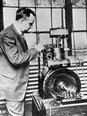 Thomas Midgley at work