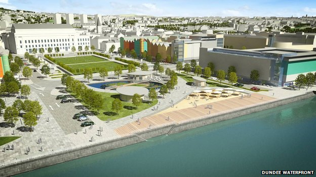 Caird Hall Waterfront