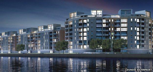 Waterfront flats