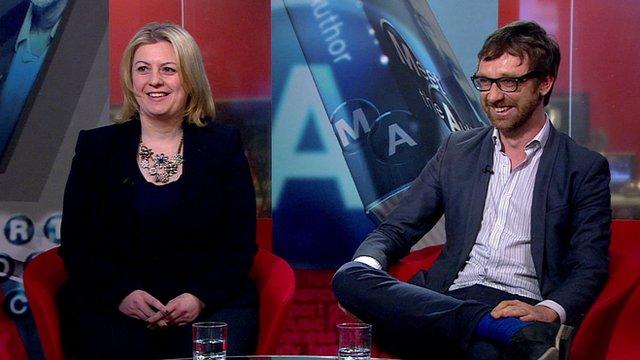 Antonia Hodgson and Luke Brown