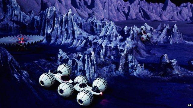 New York World's Fair Mars colony
