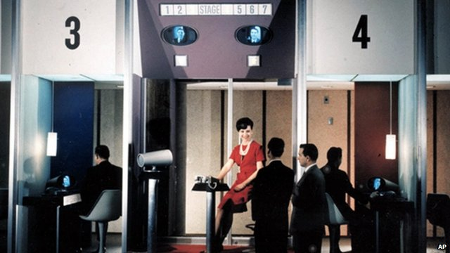 New York World's Fair video phone call booth