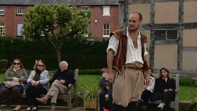 Shakespeare production in Stratford-upon-Avon