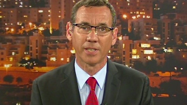 Israeli spokesman Mark Regev