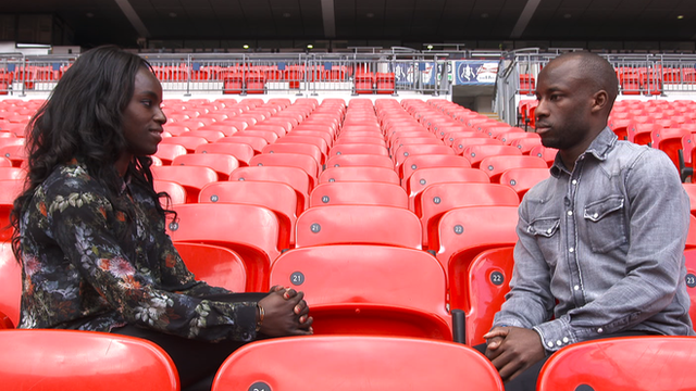 Eniola Aluko and her brother Sone on why they play for different countries
