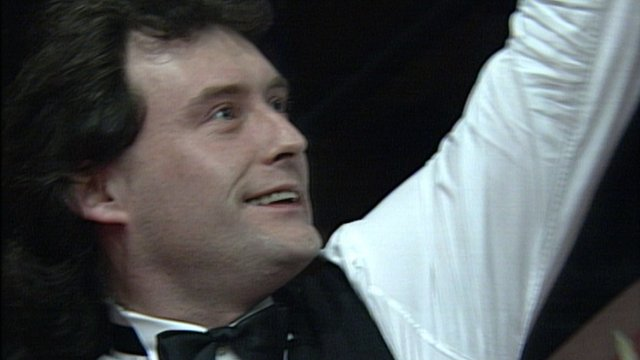 Fans' favourite Jimmy White completes only the second ever maximum break at the Crucible in 1992.