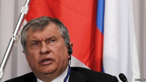 Igor Sechin. Photo: March 2014