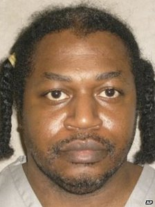 Death row inmate Charles Warner is seen in a picture from the Oklahoma Department of Corrections dated 29 June 2011.