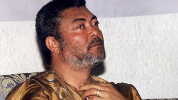 Jerry Rawlings in 1998