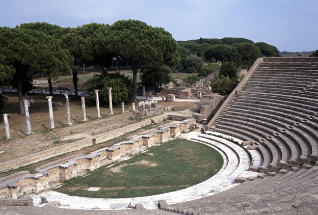 Ostia amphitheatre