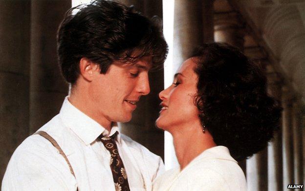 Hugh Grant and Andie MacDowall