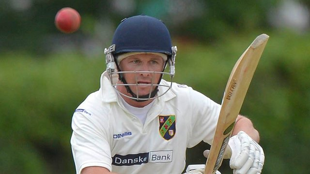 Niall McDonnell of the North-West Warriors