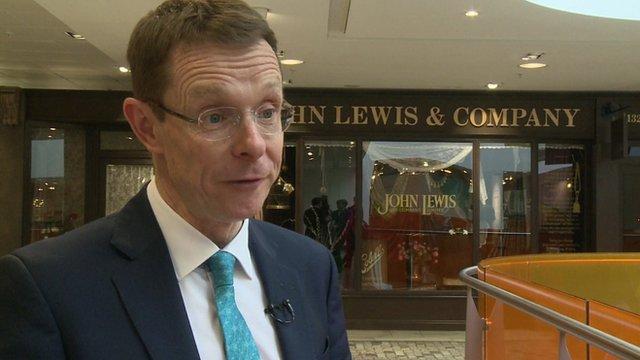 Andy Street, Managing Director John Lewis