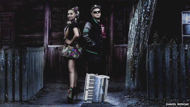 Polish Eurovision entry Donatan and Cleo