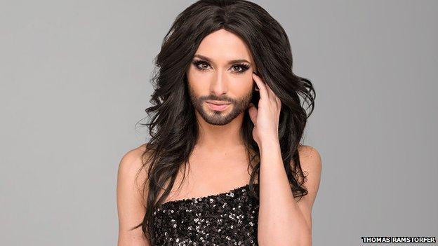 Conchita Wurst - Eurovision entry from Austria