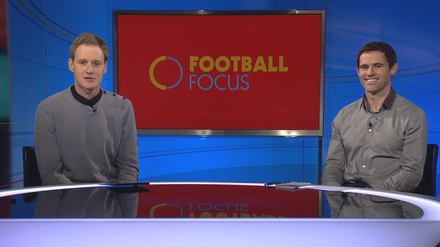 Dan Walker is joined by Kevin Kilbane for the penultimate Football Focus of the season
