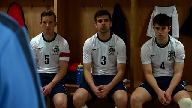 England cerebral palsy football team