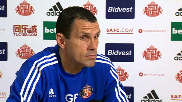 Sunderland boss Gus Poyet talks about his side's chances of Premier League safety