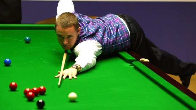 Archive: Stephen Hendry hits second Crucible 147 in 2009