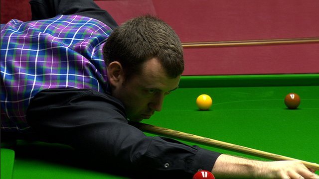 Archive: Mark Williams joins Crucible 147 club