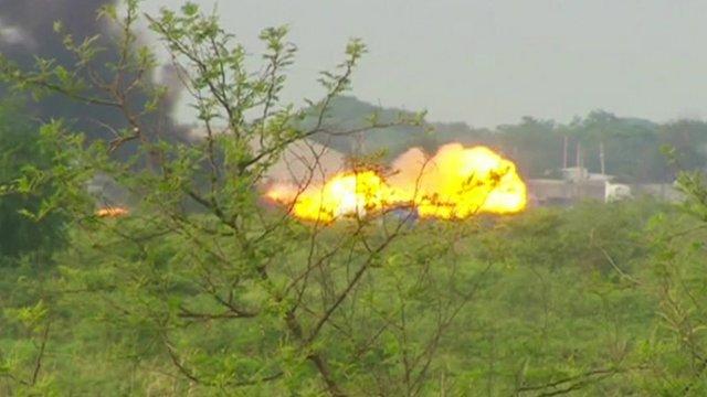 Bentiu explosion