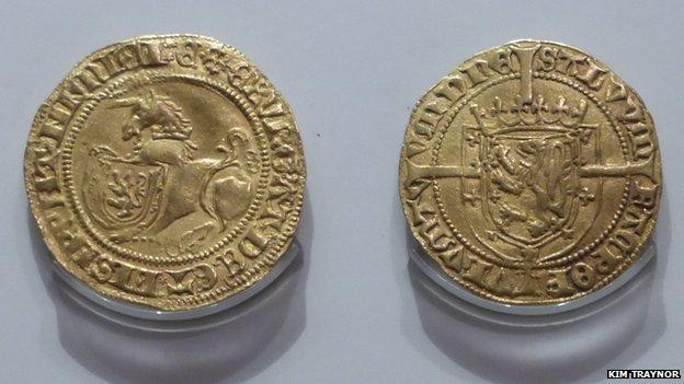 The Scottish Unicorn coin