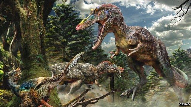 Qianzhousaurus sinensis
