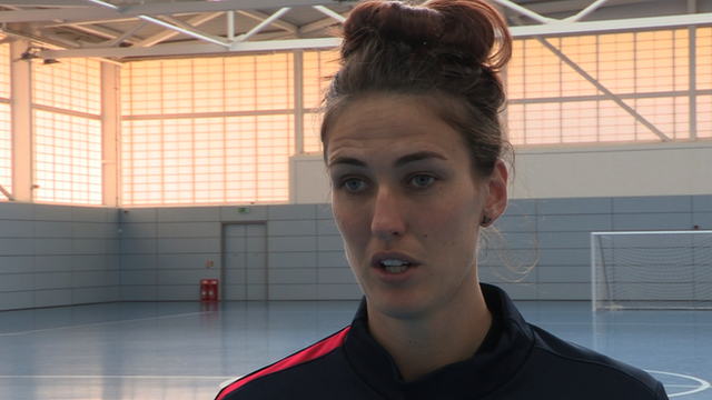 England midfielder Jill Scott