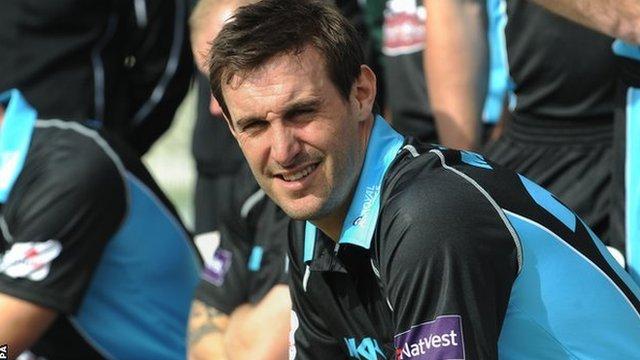 Worcestershire skipper Daryl Mitchell