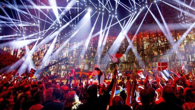Eurovision party in Copenhagen