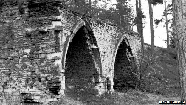Dukesfield Smelter arches