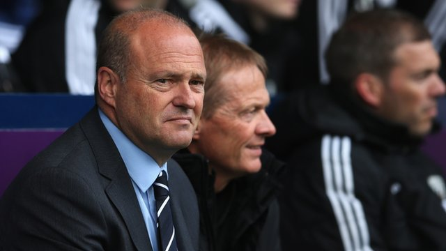 West Brom 1-2 Stoke: Pepe Mel says future is uncertain