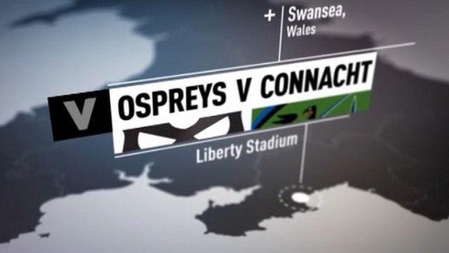 Highlights: Ospreys 45-20 Connacht