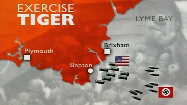 Map of Exercise Tiger