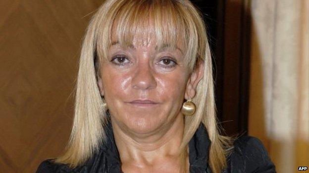 File photo: Isabel Carrasco, 13 September 2007