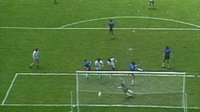 1986 World Cup - England v Argentina: Lineker header gives England hope