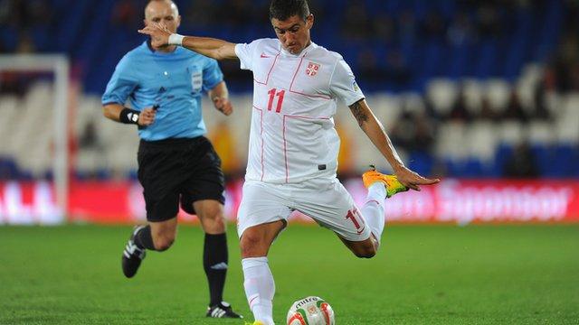Aleksandar Kolarov's strike against Wales.