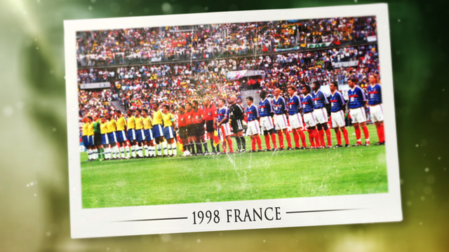 The story of the 1998 World Cup