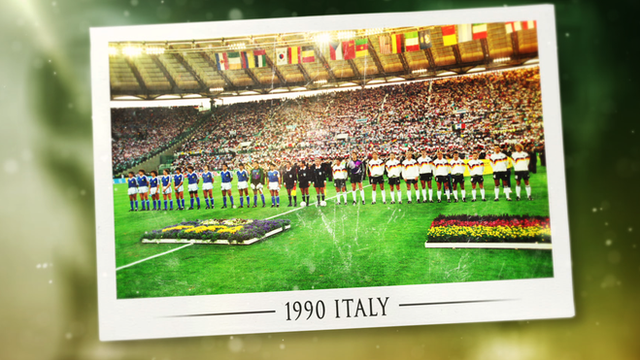 World Cups in History - 1990: Italy welcomes the world