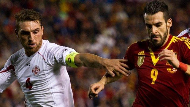 Spain's Alvaro Negrado in qualifying
