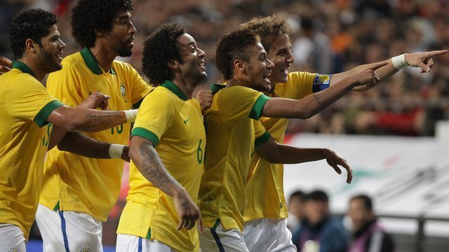Brazil's samba boys