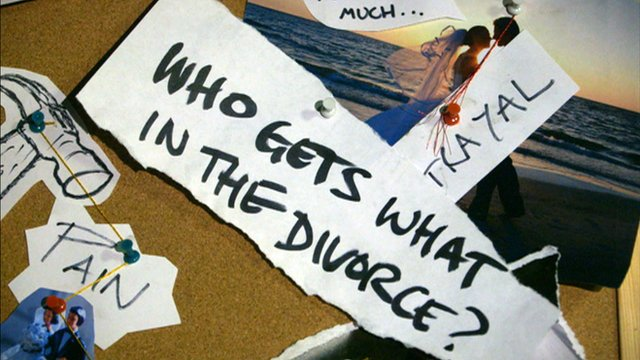 Who gets what in the divorce?