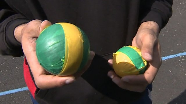 BBC Sport's Joe Wilson finds out what why young cricketers are playing Tape-ball, a street version of Cricket imported from south Asia.